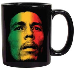 Bob Marley Rasta Face Coffee Mug