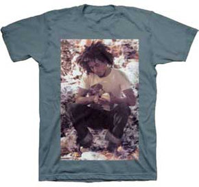 Bob Marley Sitting Green Teal T-Shirt