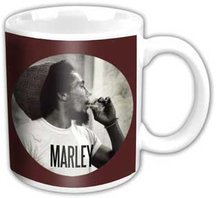 Bob Marley Smoking Coffee Mug