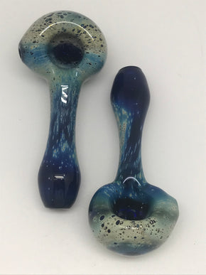 Brickyard Glass Spacetech Cobalt Pipe