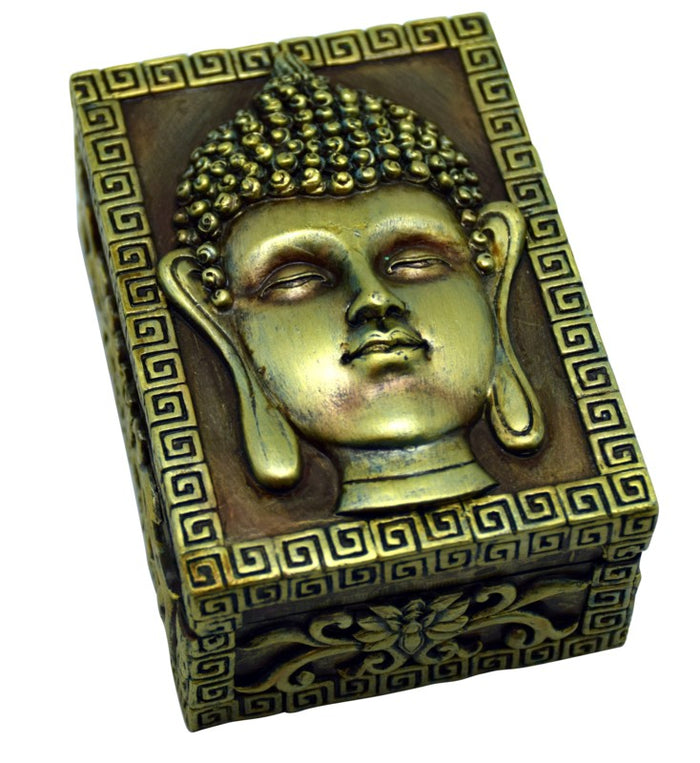 Buddha Square Stash Box