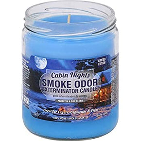 Cabin Nights Smoke Odor Candle