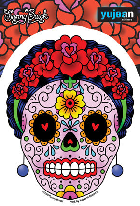 Stickers, Patches, & More! \ Stickers \ Sugar Skulls