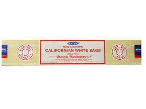 Californian White Sage Satya Sai Baba 10g Incense