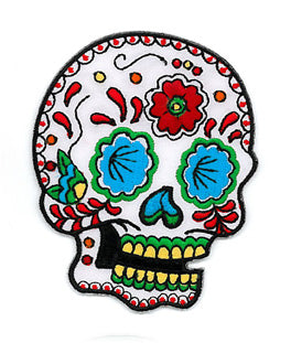 Candy Sugar Skull Patch