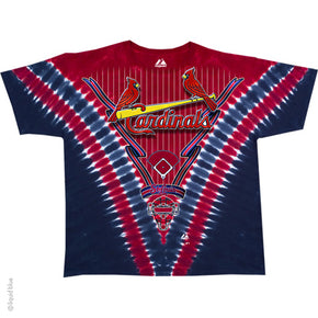 St. Louis Cardinals V Dye T-Shirt