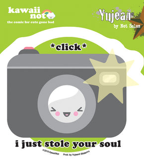 Click! I Just Stole Your Soul Sticker