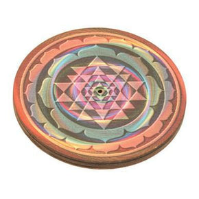 Colorful Geometric Incense Burner