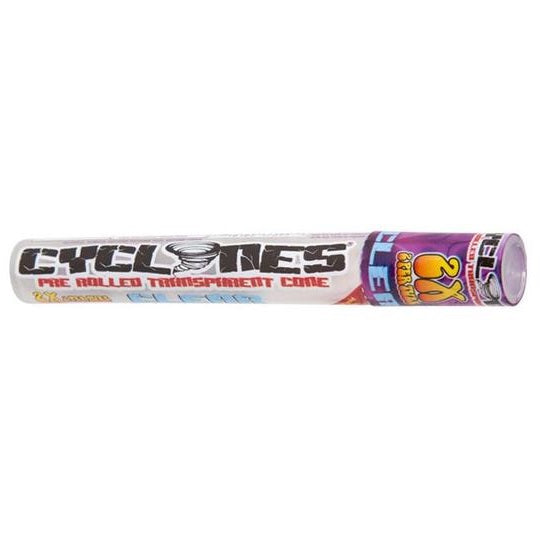 Cyclones Purple Unknown Clear Cone