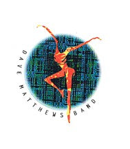 Dave Matthews Band Fire Dancer Circle Sticker