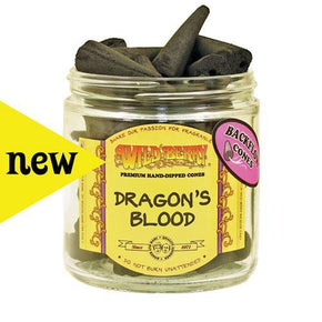Dragons Blood Wild Berry Backflow Incense Cones