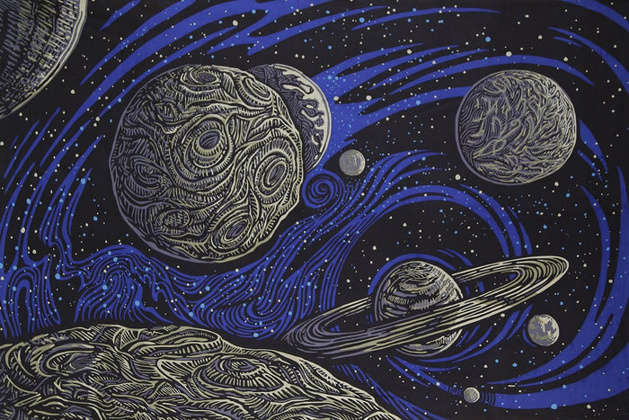 Galactic Space Tapestry