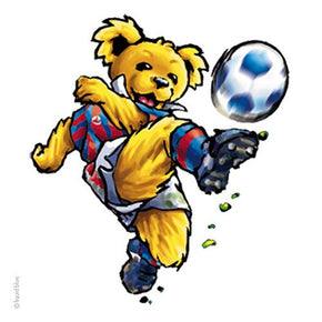 Grateful Dead Bear Soccer Sticker