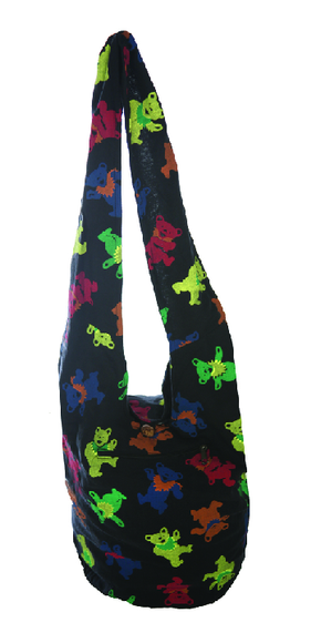 Grateful Dead Bears Baba Bag