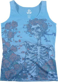 Grateful Dead Bertha & Roses Ladies Tank Top