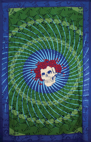 Grateful Dead Bertha & Roses Tapestry