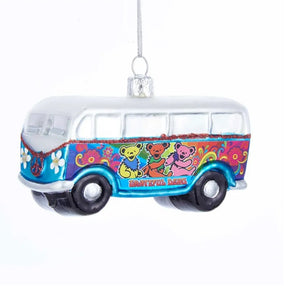 Grateful Dead™ Bus Glass Ornament