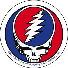 "Grateful Dead Classic SYF 2"" Sticker"