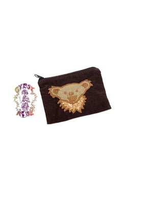 Grateful Dead Dancing Bear Coin Purse