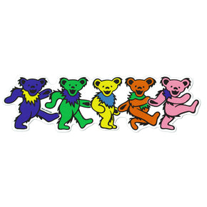 Grateful Dead Dancing Bears Magnet