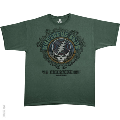 Grateful Dead Fillmore (Olive) T-Shirt