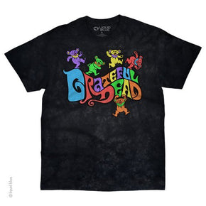 Grateful Dead Flipside Bears Tie Dye T-Shirt