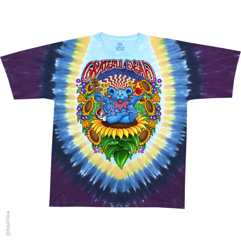 Grateful Dead Guru Bear Tie Dye T-Shirt