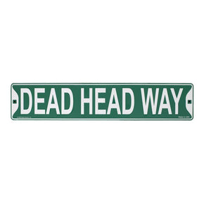 Grateful Dead Head Way Street Sign
