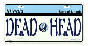 Grateful Dead Illinois Dead Head License Plate