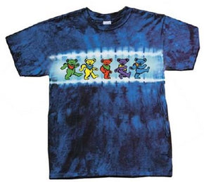 Grateful Dead Kids Bears Row Tie Dye Youth