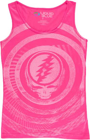 Grateful Dead Ripple Ladies Tank Top