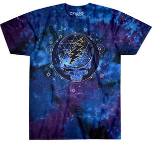 Grateful Dead Mystical Stealie Tie Dye T-Shirt