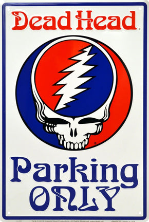 Grateful Dead SYF Parking Sign