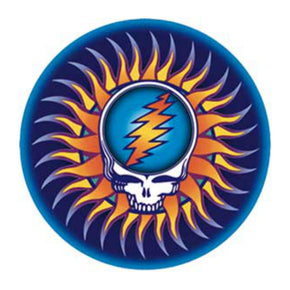 Grateful Dead SYF Tribal Sun Sticker