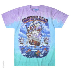 Grateful Dead Ship of Fools Tie Dye T-Shirt