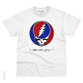 Grateful Dead Spiral SYF White T-Shirt