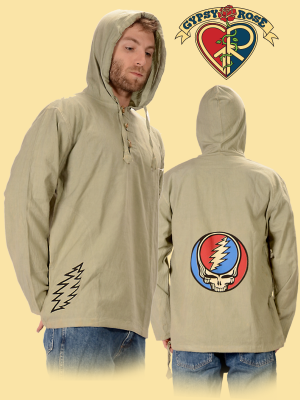 Grateful Dead Steal Your Face Cotton Hoodie