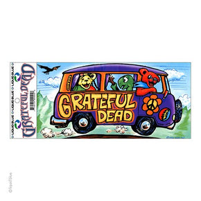 Grateful Dead Tour Bus Sticker
