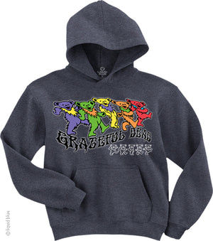 Grateful Dead Trippy Bears Hoodie