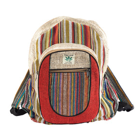 Hemp Stripes Backpack