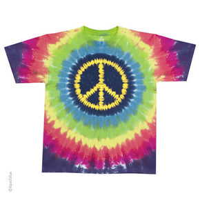 Hippie Peace Tie Dye T-Shirt