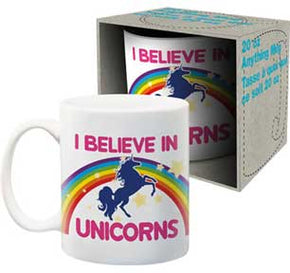 I Believec in Unicorns Mug