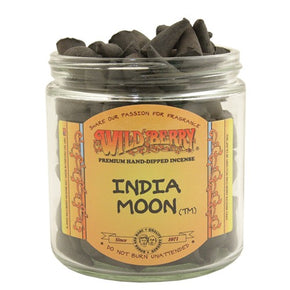 India Moon Wild Berry Incense Cones