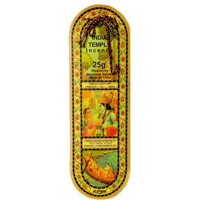 India Temple 25g Incense Sticks