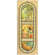 India Temple 60g Incense Sticks