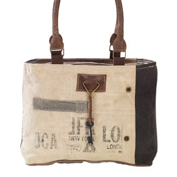 JFK Key Tote Bag By Clea Ray