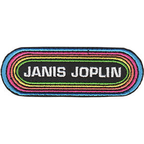 Janis Joplin Rainbow Patch