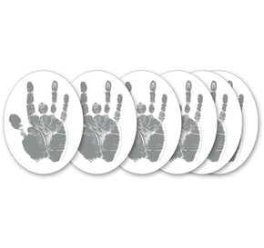 Jerry Garcia Silver Hand Sticker