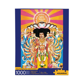 Jimi Hendrix Axis is Love 1000 Piece Puzzle