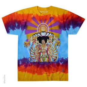 Jimi Hendrix Bold as Love Tie Dye T-Shirt